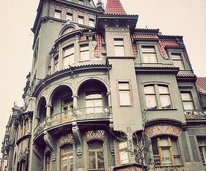 house, prague, and vintage image