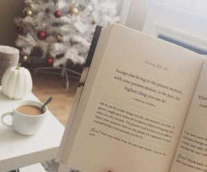 books, christmas, and reading image