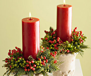 candle, new year, and christmas mood image