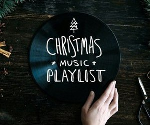 christmas, music, and playlist image
