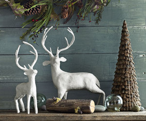 christmas, decor, and rustic image