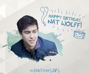 isaac, nat wolff, and the fault in our stars image