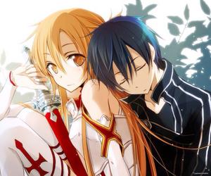 kirito, sao, and asuna image