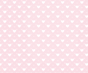 background, girly, and heart image