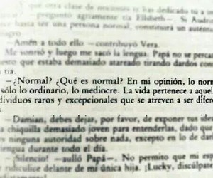 book, normal, and frases image