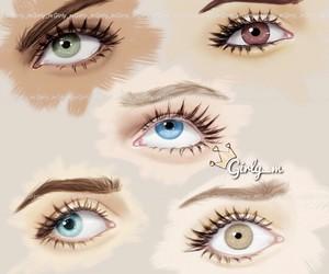 girly_m and eyes image