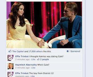 funny, hunger games, and peeta mellark image