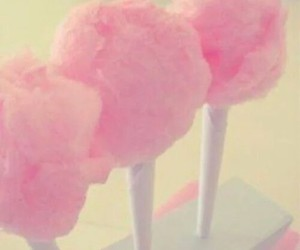eating, pink, and sweet image
