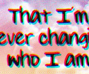 change, crazy, and Lyrics image