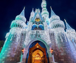 disney and castel image