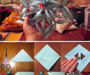 diy, Paper, and snowflake image