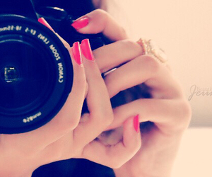 camera, nails, and photography image