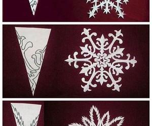 diy, snow, and snowflake image