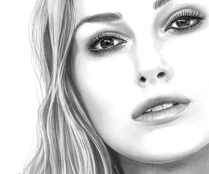 actress, drawing, and pretty image