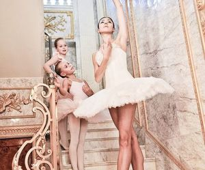 ballerina, passion, and ballet image