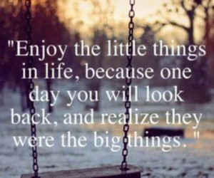 enjoy, little things, and happy image