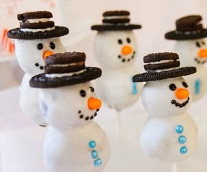 cake pops, chocolate, and Cookies image