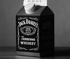 whiskey, jack daniels, and drink image