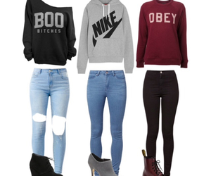 dr martens, fashion, and hoodie image