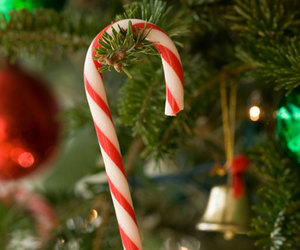 christmas, candy cane, and sweet image
