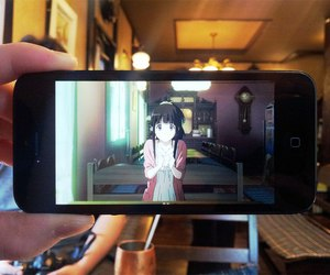 anime, cafe, and hyouka image