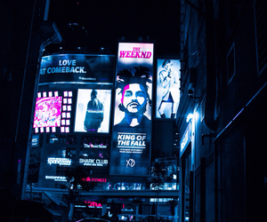 the weeknd, city, and light image