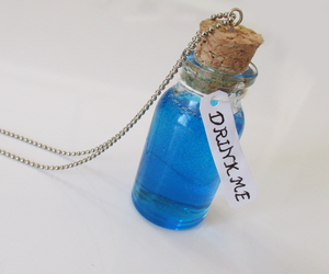 alice, bottle, and charm image