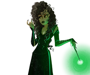 bellatrix lestrange and harry potter image