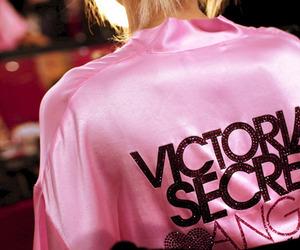pink, Victoria's Secret, and angel image