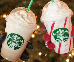 starbucks, christmas, and tumblr image