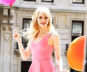 emma stone, pink, and actress image