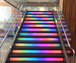 stairs, colors, and colorful image