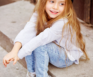 cute, girl, and kids image