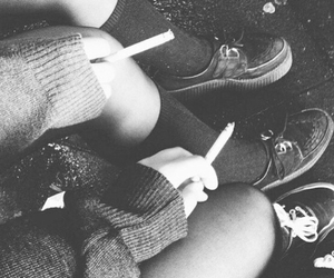 b&w, shoes, and tumblr image