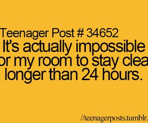 teenager post, funny, and room image