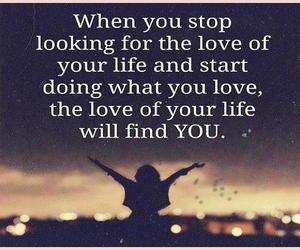 doing, love, and life image