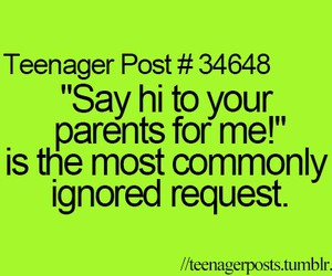 funny, hi, and parents image
