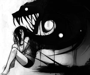 monster, anime, and demon image
