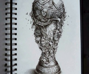 art, football, and money image