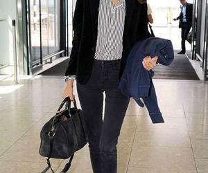 airport, alexa chung, and fashion image