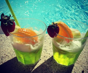 Cocktails, exotic, and summer image