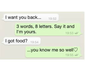 back, food, and love image