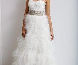dresses, wedding, and wedding dress image