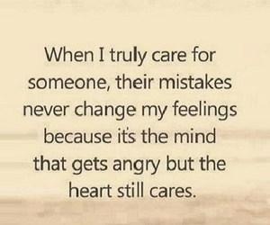 angry, care, and mistakes image