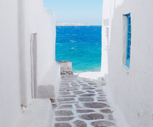 Greece, summer, and sea image