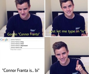 Connor, funny, and out image