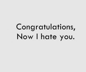 funny, hate, and i hate you image