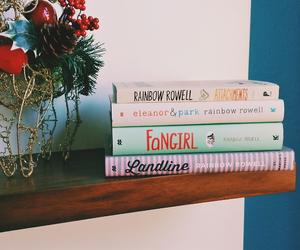 books, landline, and fangirl image