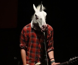 5sos, michael clifford, and unicorn image