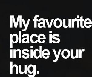 love, hug, and place image